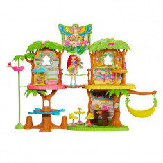 Set de joaca Enchantimals, 60 cm, papusa inclusa, 4 ani+