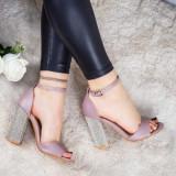 Sandale Corami mov deschis elegante -rl
