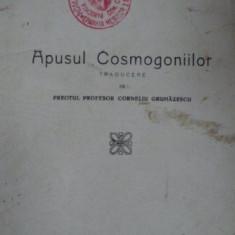 Apusul Cosmogoniilor, P. Humbert, trad. Corneliu Grumazescu, Galati