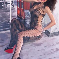 Catsuit S/M Black Bodystocking