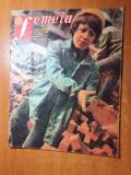 Femeia aprilie 1977-art.si foto cutremurul din martie,ciumafaia si holod bihor