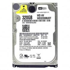 Hard disk Laptop 320GB Western Digital WD3200BUDT, Buffer 32MB, SATA II, 5400...