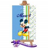 Numere masa pentru botez Mickey Mouse Handmade by Diana Puiu NMBM 4