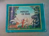 POVESTI CU POZE - NICOLAI RADLOV (text, ilustratii) - 1990, 48 p., Alta editura