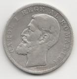 * Moneda 1 leu 1894, Argint