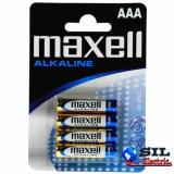 Baterii alcaline R3 (AAA) 4 buc/blister, Maxell