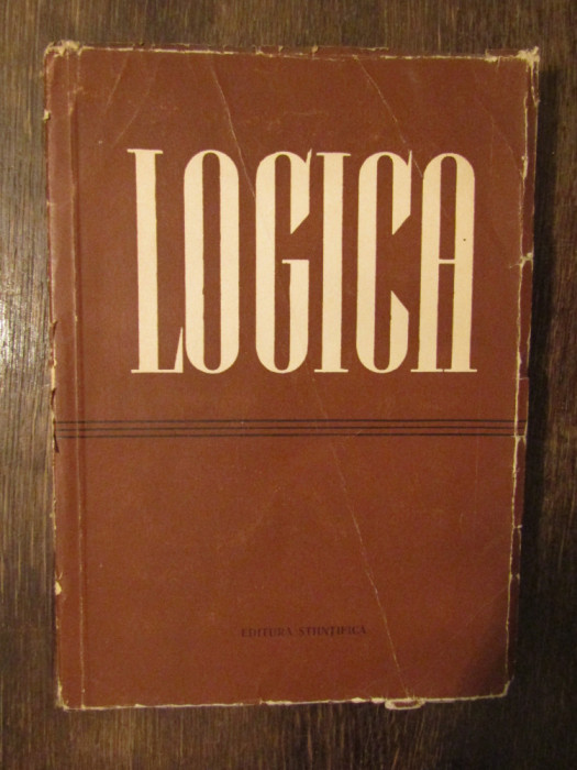Logica -D.P.Gorski, P.V.Tavanet