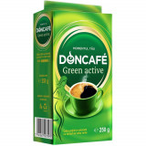 Cumpara ieftin Cafea Macinata Doncafe Green Active, 250 g, Extract de Cafea Verde, Doncafe Green Active Cafea Macinata, Cafea Macinata cu Antioxidanti Naturali Donca