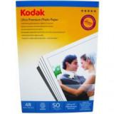 Hartie foto Kodak 4R 10X15 Ultra Premium SATIN 270g/mp pachet 50 coli