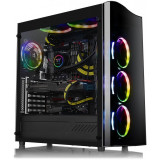 Carcasa Gaming Thermaltake View 22 Tempered Glass, USB 3.0, Panou transparent,...