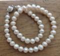 Colier perle albe de cultura 10-11 mm