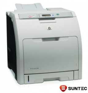 Imprimanta laser HP Color Laserjet 3000n (retea) Q7534A fara transfer kit, fara cartuse, fara cabluri, fara cuptor