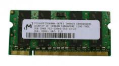 Memorie Laptop 2GB DDR2 PC2 6400S 800Mhz Micron foto
