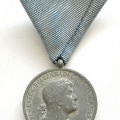 u217 UNGARIA HORTISTA 1940 MEDALIA ANEXAREA TRANSILVANIEI DE NORD MATEI CORVIN