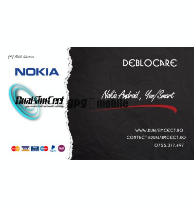 Deblocare Nokia Android, Yun/Smart Worldwide