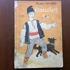 omulet victor eftimiu editura tineretului 1963 RPR ilustratii sivlia cambir
