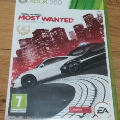 Joc XBOX 360 Need for speed Most Wanted original PAL / by WADDER, Curse auto-moto, 3+, Single player