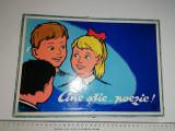 RAR = JOC ROMANESC PIONIERI  ANII 60 - CINE STIE POEZIE