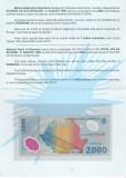 ROMANIA - FOLDER BANCNOTA ECLIPSA - 2000(2 000) LEI