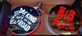 "Lampa oglinda Pablo LED -Logo ""king of the road"""