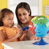 Primul meu glob pamantesc.