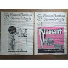 REVISTA ROMANA DE STOMATOLOGIE, 1939, COLECTIE COMPLECTA,6 NUMERE