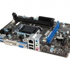 GARANTIE! Placa de baza MSI H81M-P33 Socket LGA1150 USB 3.0 SATA III, Pentru INTEL, LGA 1150, DDR3