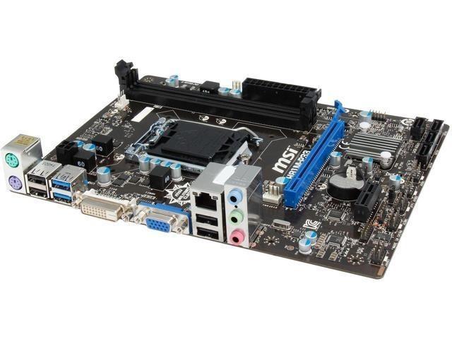 GARANTIE! Placa de baza MSI H81M-P33 Socket LGA1150 USB 3.0 SATA III