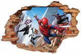 "Sticker ""Wall Crack"" Spiderman 2 - 120 x 80 cm"