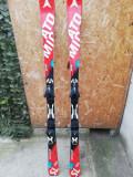 Skiuri Atomic SL 164cm + clapari Lange, 164 cm