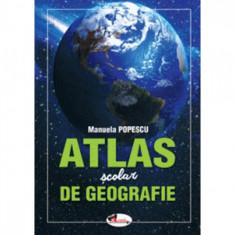 Atlas scolar de geografie - Manuela Popescu