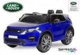 Cumpara ieftin Masinuta electrica Land Rover Discovery DELUXE cu Touchscreen Mp4 Albastru