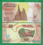 = MADAGASCAR – 500 ARIARY – 2017 - UNC  =