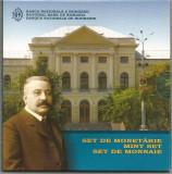 ROMANIA SET MONETARIE 2008  100 ANI MUZEUL  de ISTORIE NATURALA GRIGORE ANTIPA, Argint
