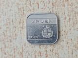 50 cents 2009 - Aruba., Europa, Cupru-Nichel