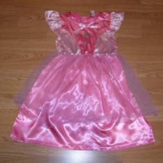 costum carnaval serbare zana printesa pentru copii de 4-5 ani