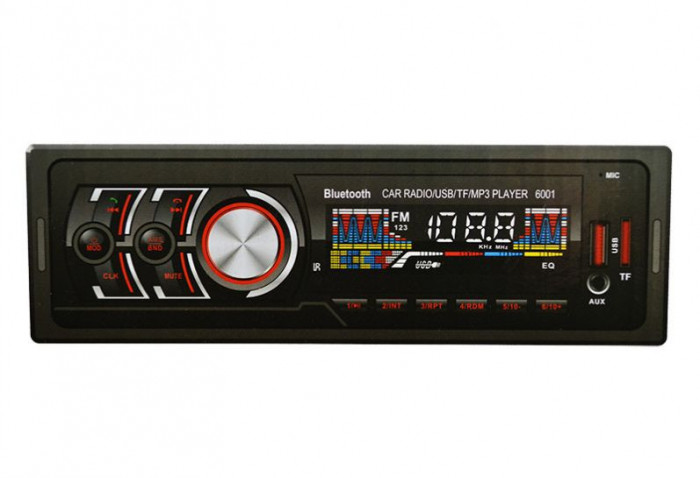 MP3 Player Casetofon auto USB SD Bluetooth 4x60W Telecomanda cu Garantie 2ani