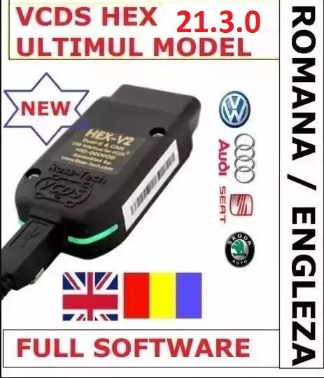 VCDS VAG COM 21.3 Romana-Engleza VW AUDI SKODA SEAT
