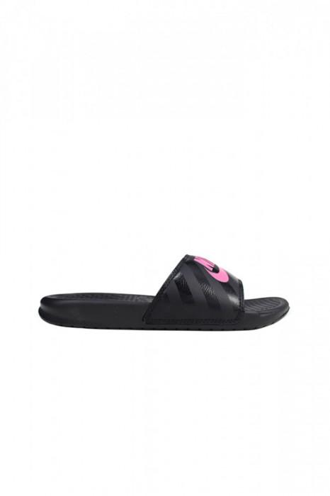 Slapi Nike Benassi Jdi Black Pink - 343881-061