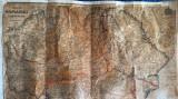HARTA ROMANIEI SI A TARILOR VECINE INTOCMITA DE GENERAL CONSTANTIN TEODORESCU,