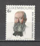 Luxemburg.1978 50 ani moarte E.Mayrisch-industrias  SL.786, Nestampilat