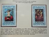 GHANA-PICTURI RUBENS-NESTAMPILATE