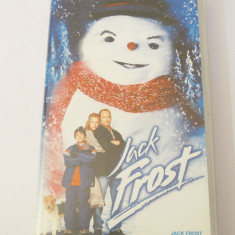 Caseta video VHS originala film tradus Ro - Jack Frost