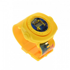 Ceas digital pentru copii, cu lanterna, Minions - SK572