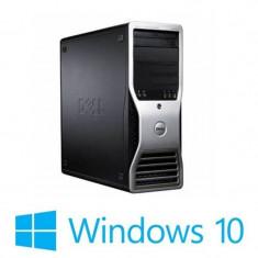 Statie Grafica Refurbished Dell Precision T3500, Hexa Core E5645, 12GB, Quadro 600, Win 10 Home