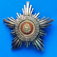 ORDINUL  STEAUA ROMANIEI  CL. 5 - RSR