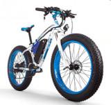 Bicicleta electrica 1000W fat bike 26 baterie 48V 17Ah 21 viteze Shimano