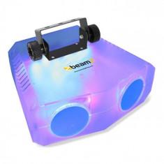 Beamz NOMIA CLEAR, efect de lumină Moonflower dublu, 114 RGBAW LED-uri, telecomandă IR