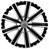Set capace roti Mega Drive Toro Silver&Black, 15 inch