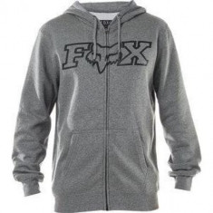 FOX LEGACY FHEADX ZIP FLEECE -14626-185 Heather Graphite